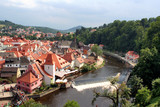 Scenic view of Czech Krumlov poster
