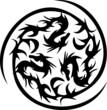 circularly black dragons