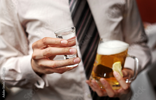 Leinwanddruck Bild Alkohol