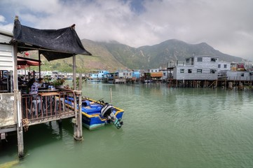 Tai O Fishing Village, Hong Kong.
