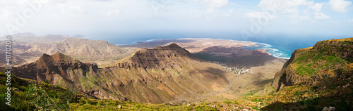 panorama of Cape Verde