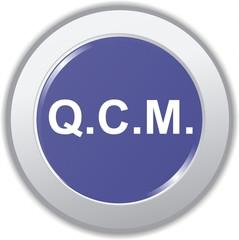 bouton QCM