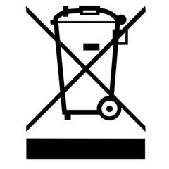 Problemmüll nicht in die Mülltonne werfen!