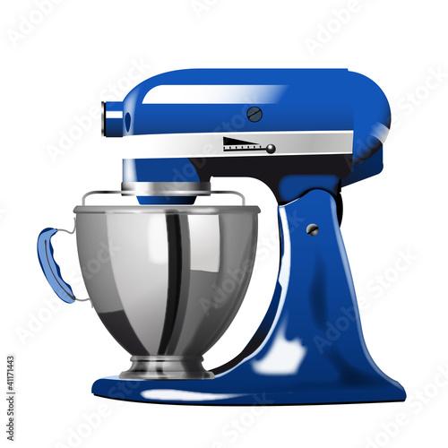 kuechenmaschine blau von davidus lizenzfreier vektor 41171443 auf. Black Bedroom Furniture Sets. Home Design Ideas