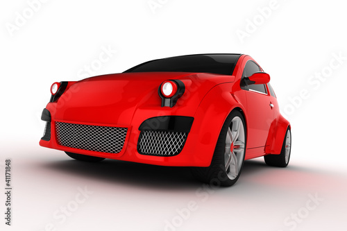 Cartoon Concept Car