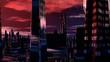 Fantastic (alien) city and huge planet