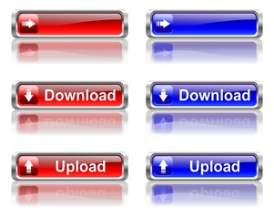 The color buttons of download and upload
