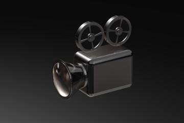 Filmkamera Silber