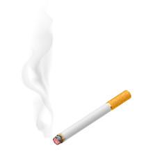 Realistyczne papierosów palenie