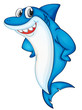 Comical shark