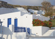 Traditional house at Santorini island in Greece
