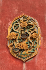 Forbidden City wall decoration