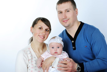 lucky making look younger family with breast child