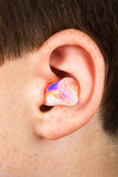 color earplug