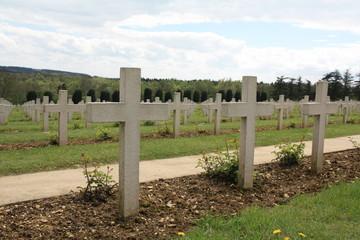 Ossuaire de douaumont Verdun Meuse champ de bataille