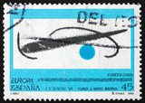Postage stamp Spain 1993 Fusees, by Joan Miro