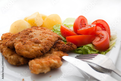 Kotlet Schabowy - Obiad