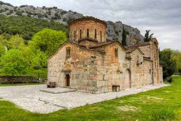 Porta Panagia church (built 1283 AD), Thessaly, Greece