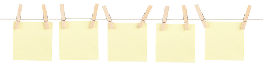Yellow Pinned Notes