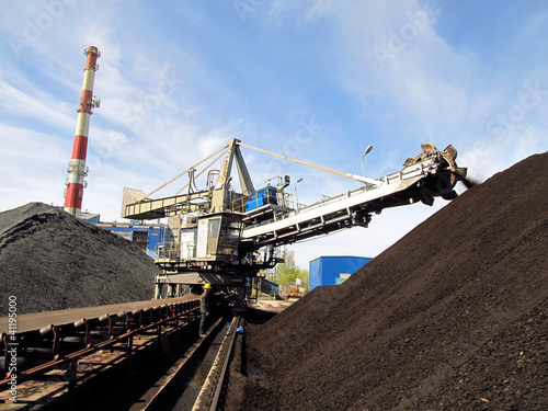storage of coal at power plants