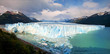 Perito Moreno Glacier panorama in Patagonia, South America