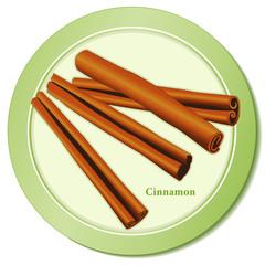Cinnamon Sticks, popular spice for cooking, baking. Medicinal