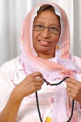 Muslim Arabic woman portrait