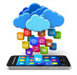 Cloud computing and mobility concept
