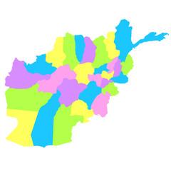 アフガニスタン地図
