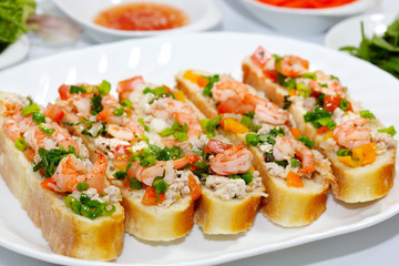 Bread and Shrimps