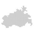 Pixelkarte - Mecklenburg-Vorpommern