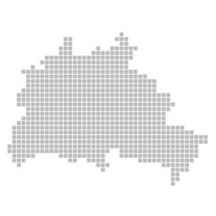 Pixelkarte - Berlin