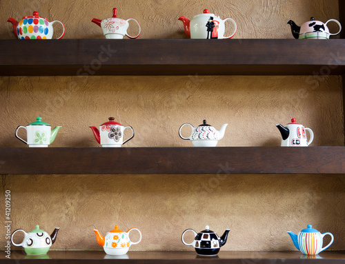 collection of teapot