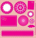 obrázek vector set snímků krajky