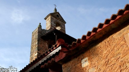 The old church of Requejo de Pradorrey, in Spain