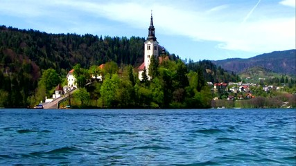 Church of the Assumption of Mary on Bled Island