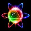 Green atom electron
