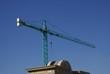 crane. crane for construction plant