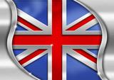UK Metal Flag