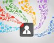 Modern social media content flows to avatar