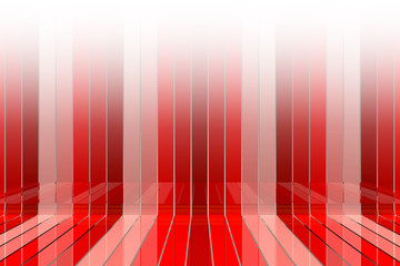 Red graphic background