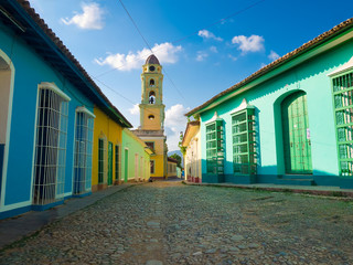 The colonial town of Trinidad in Cuba