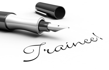 Trainee! - Stift Konzept