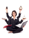 Business woman concept