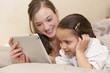 L'apprentissage avec la tablette tactile au lit