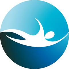 logo nuoto - swim logo