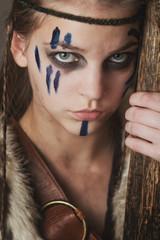 Famale warrior