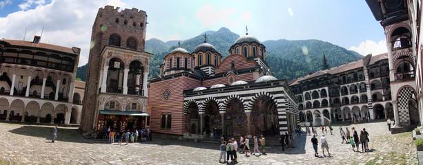 Panoramique monastère Rila - Bulgarie - UNESCO