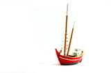 small fishing boat toy