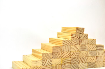 Jenga pieces of wood